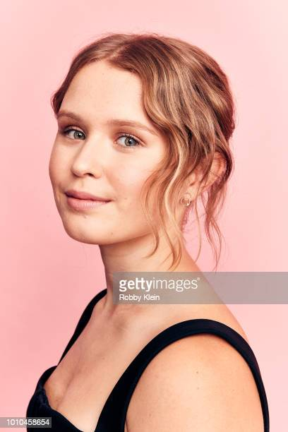 Eliza Scanlen of HBO's 'Sharp Objects' poses for a portrait during the 2018 Summer Television Critics Association Press Tour at The Beverly Hilton...