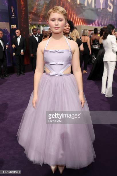 Eliza Scanlen walks the red carpet during the 71st Annual Primetime Emmy Awards on September 22 2019 in Los Angeles California