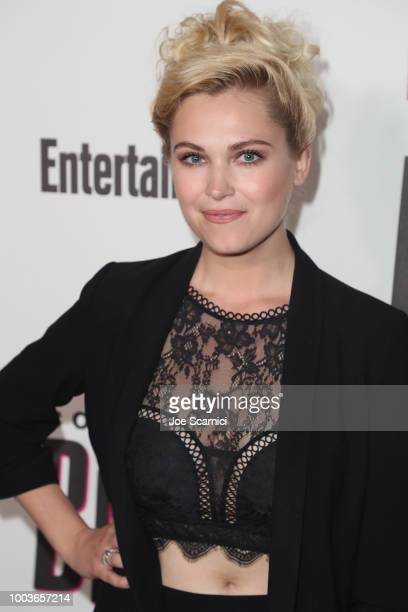 Eliza Taylor attends Entertainment Weekly's ComicCon Bash held at FLOAT Hard Rock Hotel San Diego on July 21 2018 in San Diego California sponsored...