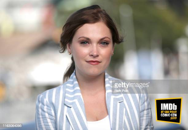 Eliza Taylor attends the #IMDboat at San Diego ComicCon 2019 Day Two at the IMDb Yacht on July 19 2019 in San Diego California