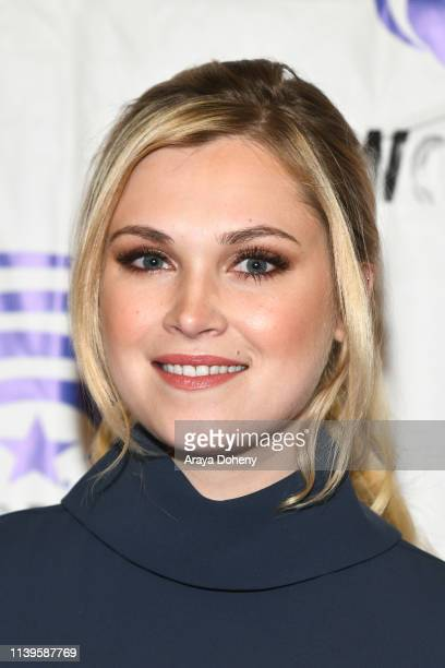 Eliza Taylor attends the press conference for The 100 at WonderCon 2019 Day 3 at Anaheim Convention Center on March 31 2019 in Anaheim California