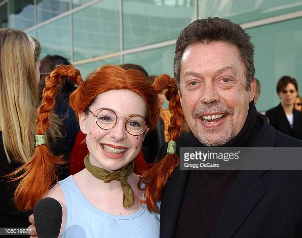 Eliza Thornberry Tim Curry during The Wild Thornberrys Movie Premiere at Cinerama Dome in Hollywood California United States