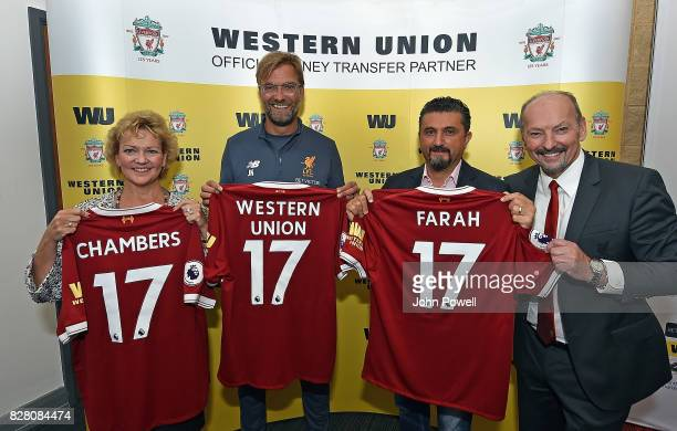 Elizaberth Chambers EVP Chief Strategy Product and Marketing Officer Jurgen Klopp Manager of Liverpool Jean Claude Farah EVP President Global...