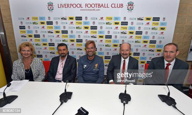 Elizaberth Chambers EVPChief Strategy Product and Marketing Officer Jean Claude Farah EVP President Global Payments Jurgen Klopp Manager of Liverpool...