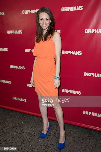 Elizabeth A Davis attends the Orphans Broadway opening night at the Gerald Schoenfeld Theatre on April 18 2013 in New York City