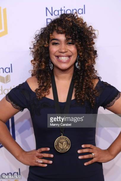 Elizabeth Acevedo attends the 69th Annual National Book Awards at Cipriani Wall Street on November 14 2018 in New York City