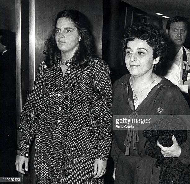 Elizabeth Alda and Arlene Alda during The Seduction of Joe Tynan New York City Premiere Party at Promenade Cafe Rockefeller Plaza in New York City...