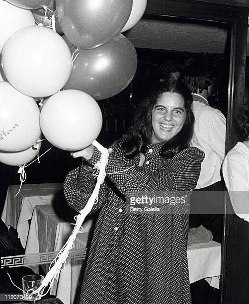 Elizabeth Alda during The Seduction of Joe Tynan New York City Premiere Party at Promenade Cafe Rockefeller Plaza in New York City New York United...