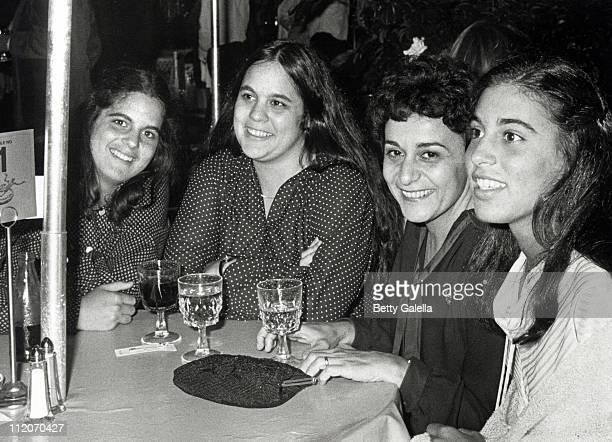 Elizabeth Alda Eve Alda Arlene Alda and Beatrice Alda