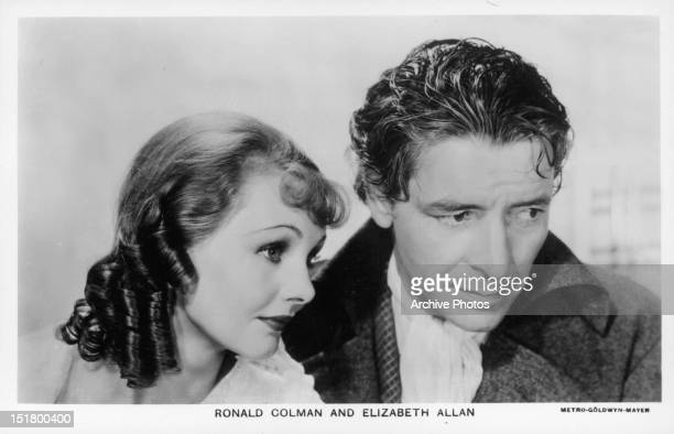 Elizabeth Allan and Ronald Colman in a scene from the film 'A Tale Of Two Cities' 1935
