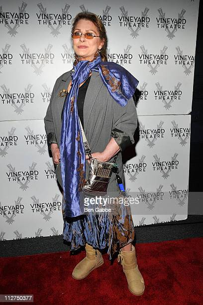 Elizabeth Ashley attends the Picked OffBroadway opening night at the Vineyard Theatre on April 20 2011 in New York City