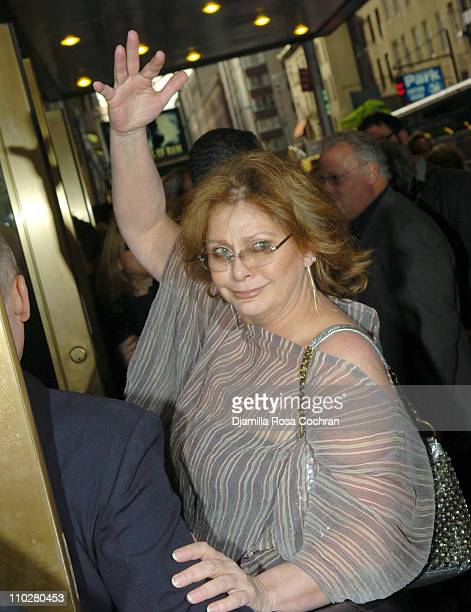 Elizabeth Ashley during The Caine Mutiny CourtMartial Opening Night Arrivals at The Gerald Schoenfeld Theatre in New York City New York United States
