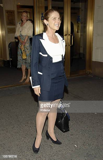 Elizabeth Ashley during Three Days of Rain Broadway Opening Night Arrivals at Bernard B Jacobs Theatre in New York City New York United States