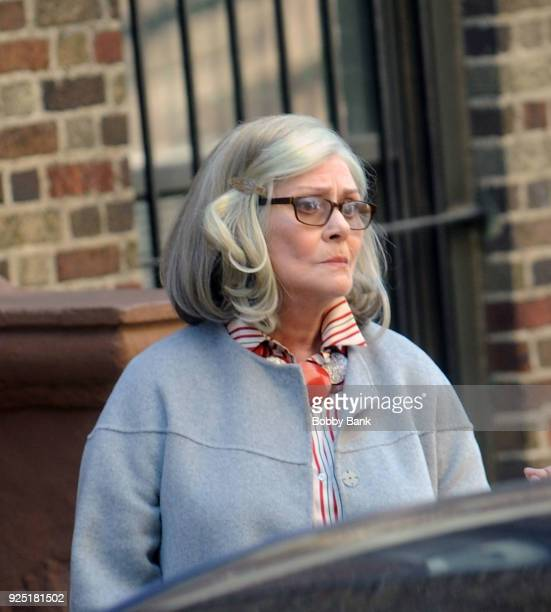 Elizabeth Ashley on the set of Russian Doll' on February 27 2018 in New York City