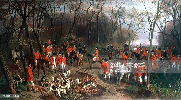 'Elizabeth at the Hunt', late 19th century. Elizabeth of Bavaria , Empress of Austria, out fox-hunting . Elizabeth was a superb horsewoman and a keen...