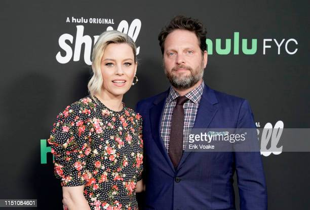 Elizabeth Banks and Max Handelman attend the Hulu Shrill FYC screening at the Television Academy on May 22 2019 in North Hollywood California