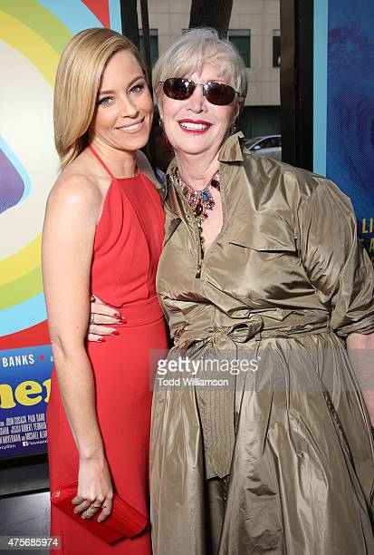 Elizabeth Banks and Melinda Ledbetter attend the Roadside Attractions' Premiere Of Love Mercy at the Samuel Goldwyn Theater on June 2 2015 in Beverly...