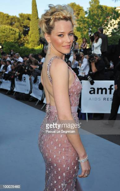 Elizabeth Banks arrives at amfAR's Cinema Against AIDS 2010 benefit gala at the Hotel du Cap on May 20 2010 in Antibes France