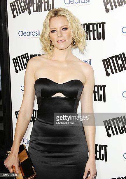 Elizabeth Banks arrives at the Los Angeles premiere of Pitch Perfect held at ArcLight Cinemas on September 24 2012 in Hollywood California