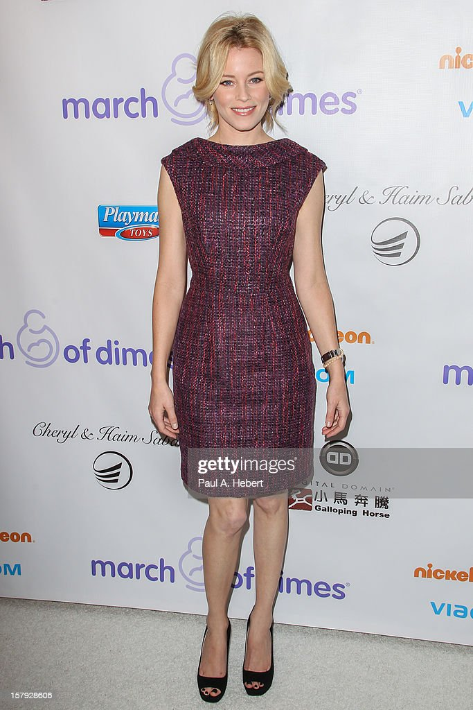 Elizabeth Banks arrives at the March Of Dimes' Celebration Of Babies held at the Beverly Hills Hotel on December 7, 2012 in Beverly Hills, California.