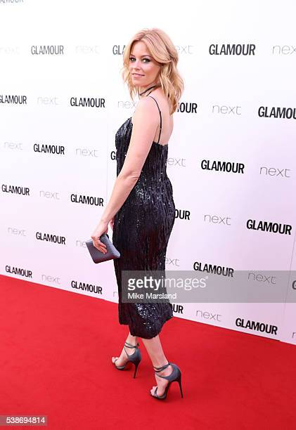 Elizabeth Banks arrives for the Glamour Women Of The Year Awards on June 7 2016 in London United Kingdom