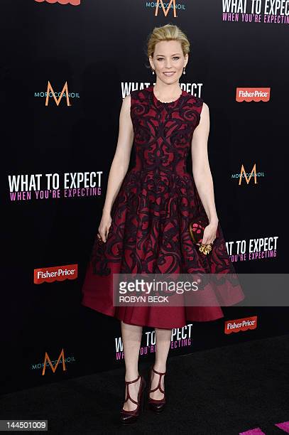 Elizabeth Banks arrives for the premiere of What To Expect When You Are Expecting May 14 2012 at Grauman's Chinese Theatre in Hollywood California...