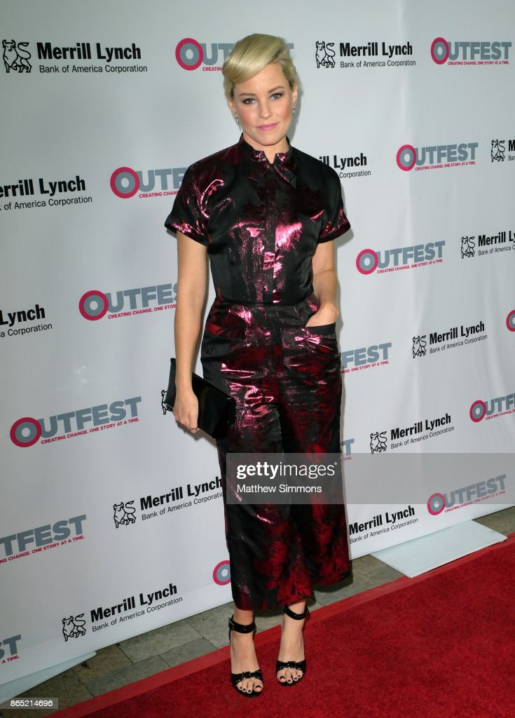 Elizabeth Banks at the 13th Annual Outfest Legacy Awards at Vibiana on October 22, 2017 in Los Angeles, California.