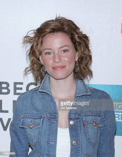 Elizabeth Banks at the Tribeca Performing Arts Center in New York CIty New York