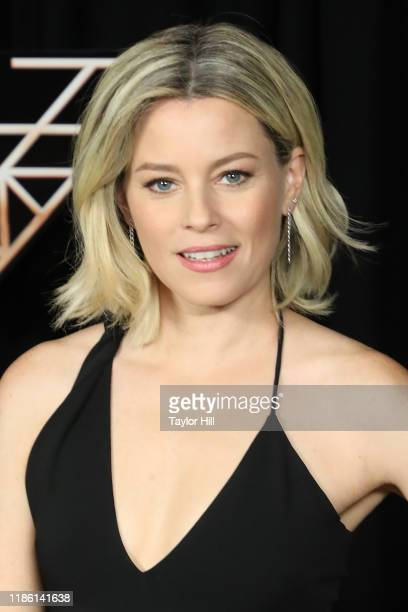 Elizabeth Banks attends a photocall for Charlie's Angels at the Whitby Hotel on November 07 2019 in New York City