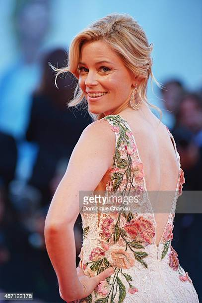Elizabeth Banks attends a premiere for 'A Bigger Splash' during the 72nd Venice Film Festival at Sala Grande on September 6 2015 in Venice Italy