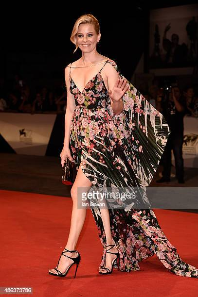 Elizabeth Banks attends a premiere for 'Beasts Of No Nation' during the 72nd Venice Film Festival at Sala Grande on September 3 2015 in Venice Italy