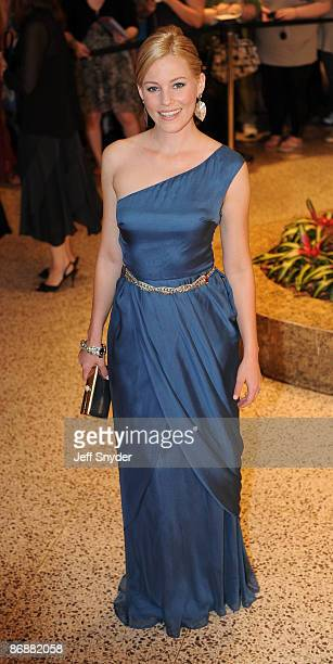 Elizabeth Banks attends the 2009 White House Correspondents' Association Dinner at the Washington Hilton on May 9 2009 in Washington DC