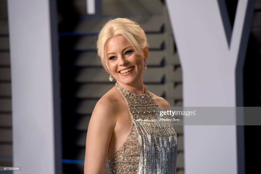 Elizabeth Banks attends the 2018 Vanity Fair Oscar Party Hosted By Radhika Jones - Arrivals at Wallis Annenberg Center for the Performing Arts on March 4, 2018 in Beverly Hills, California.