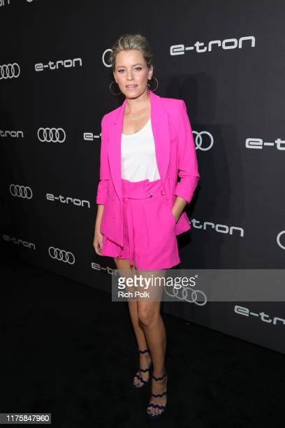Elizabeth Banks attends the Audi pre-Emmy celebration at Sunset Tower in Hollywood on Thursday, September 19, 2019.