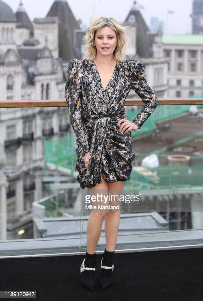 Elizabeth Banks attends the Charlie's Angels photocall at The Corinthia Hotel on November 21 2019 in London England