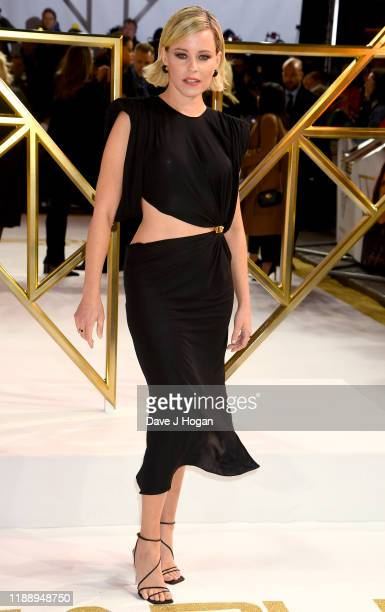 """Elizabeth Banks attends the """"Charlies Angels"""" UK Premiere at The Curzon Mayfair on November 20, 2019 in London, England."""