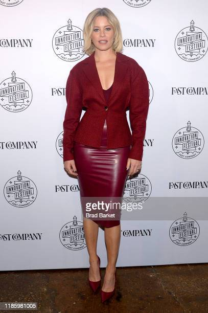 Elizabeth Banks attends the Fast Company Innovation Festival - Day 2 Arrivals on November 06, 2019 in New York City.