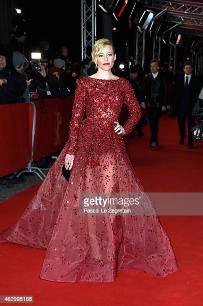 Elizabeth Banks attends the 'Love Mercy' premiere during the 65th Berlinale International Film Festival at FriedrichstadtPalast on February 8 2015 in...