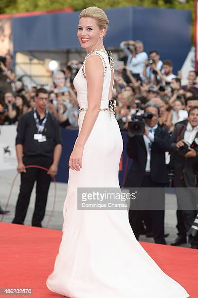 Elizabeth Banks attends the opening ceremony and premiere of 'Everest' during the 72nd Venice Film Festival on September 2 2015 in Venice Italy