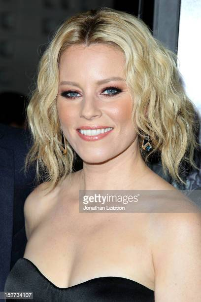 Elizabeth Banks attends the Pitch Perfect Los Angeles Premiere at ArcLight Hollywood on September 24 2012 in Hollywood California