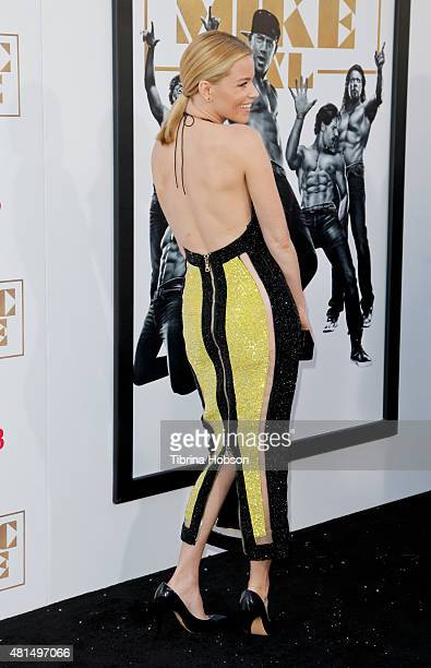 Elizabeth Banks attends the premiere of 'Magic Mike XXL' at TCL Chinese Theatre IMAX on June 25 2015 in Hollywood California