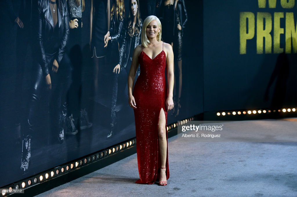 Elizabeth Banks attends the premiere of Universal Pictures' 'Pitch Perfect 3' at Dolby Theatre on December 12, 2017 in Hollywood, California.