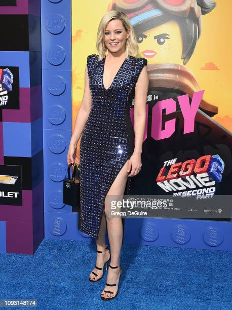 Elizabeth Banks attends the Premiere Of Warner Bros Pictures' The Lego Movie 2 The Second Part at Regency Village Theatre on February 2 2019 in...