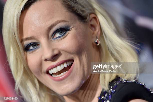 Elizabeth Banks attends the premiere of Warner Bros Pictures' 'The Lego Movie 2 The Second Part' at Regency Village Theatre on February 02 2019 in...