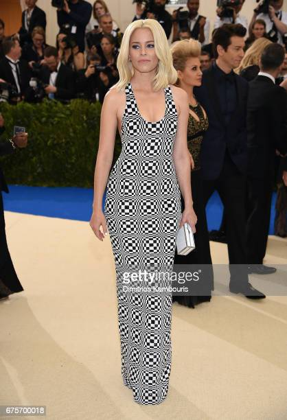 Elizabeth Banks attends the 'Rei Kawakubo/Comme des Garcons Art Of The InBetween' Costume Institute Gala at Metropolitan Museum of Art on May 1 2017...