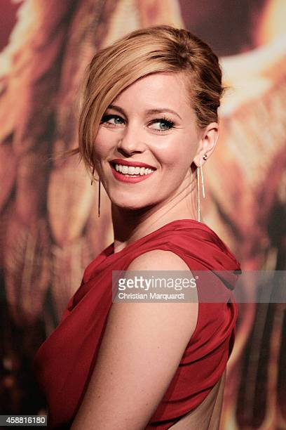 Elizabeth Banks attends the 'The Hunger Games Mockingjay Part 1' preview event at Kraftwerk Mitte on November 11 2014 in Berlin Germany