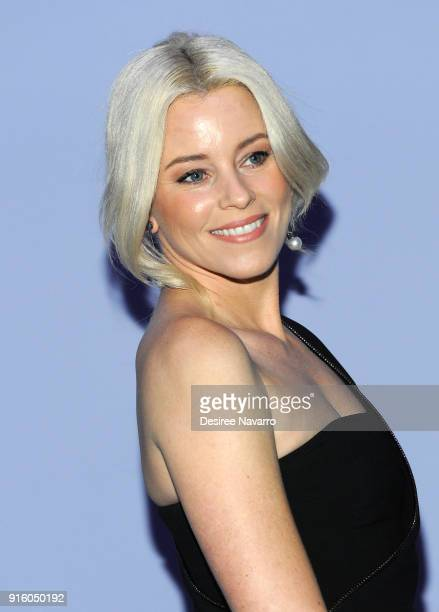 Elizabeth Banks attends Tom Ford Women's Fall/Winter 2018 fashion show during New York Fashion Week at Park Avenue Armory on February 8 2018 in New...