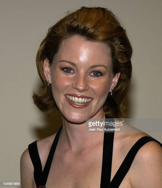 Elizabeth Banks during 2003 Women In Film Crystal + Lucy Awards Sponsored by Marie Claire - Arrivals at Century Plaza Hotel in Century City,...