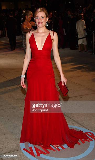 Elizabeth Banks during 2004 Vanity Fair Oscar Party at Mortons in Beverly Hills California United States