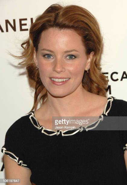 Elizabeth Banks during 6th Annual Tribeca Film Festival - 2nd Annual Chanel Dinner - April 26, 2007 at The Bowery Hotel in New York City, New York,...